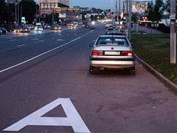 Московские власти предложили штрафовать за выезд на спецполосу на миллион рублей