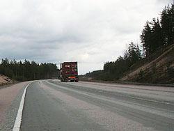 Часть Киевского шоссе расширили до шести полос